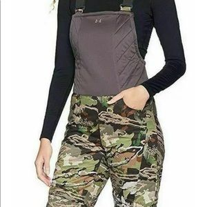 New Under Armour hunting bib  one piece overalls